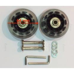 2 Roulettes compatibles...